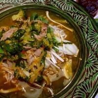 Soupe Asiatique (version végé, aussi disponible)