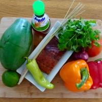 Salade de Papaye verte (Cambodge)