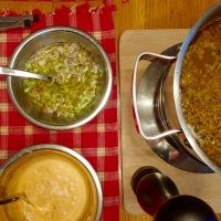 Bouillon de fondue facile et délicieux...