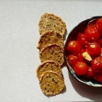 Une explosion de tomates cerises confites